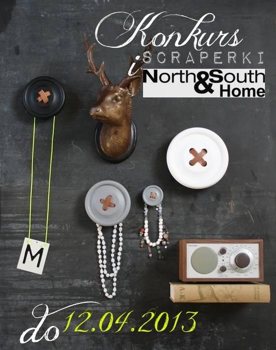 113a4aee KONKURS Scraperki I North&South Home :) – SCRAPERKA