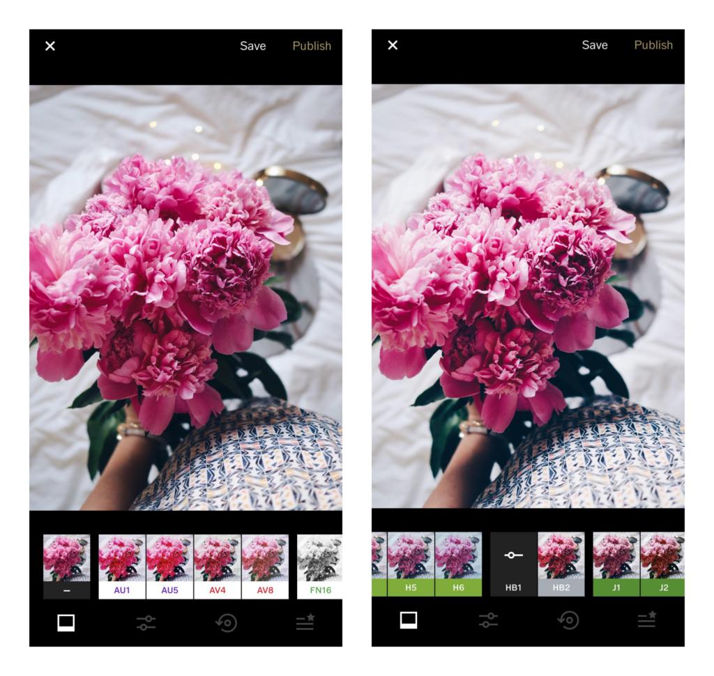 Znalezione obrazy dla zapytania aplikacje do instagrama vsco